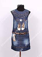 Детский джинсовый сарафан Miles 1144