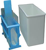 Пластмассовый непрозрачный  сосуд-контейнер ОС250-ЕКА