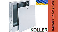 Шкаф встраиваемый для коллекторов теплого пола SWPS-4 680х350х110 Koller