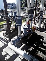 Монтаж задвижек, клапанов, технологических трубопроводов, оборудования для резервуарных парков масел и нефтепр