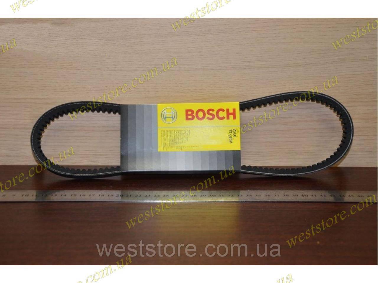 Ремень кондиционера Ланос Lanos (13х850) зубчатый Bosch (Бош)1987947651 \96486814