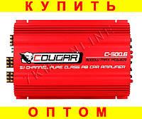Фирменный усилитель Cougar CAR AMP 500.6