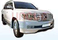 Юбка переднего бампера для Land Cruiser 200 2007-2015, фото 1