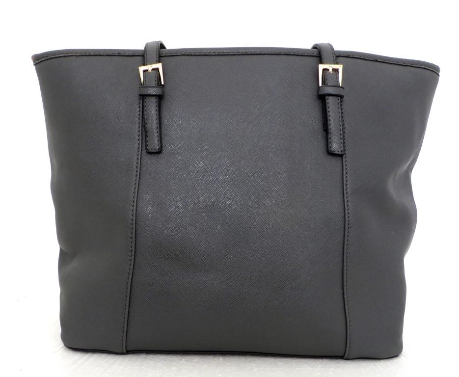 Удобная вместительна женская сумка Эко-кожа. Серая