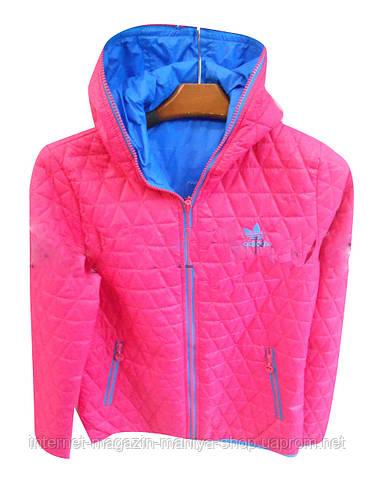 Куртка женская двухсторонняя