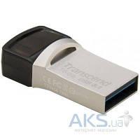 Флешка Transcend 16GB JetFlash 890S Silver USB 3.1 (TS16GJF890S)