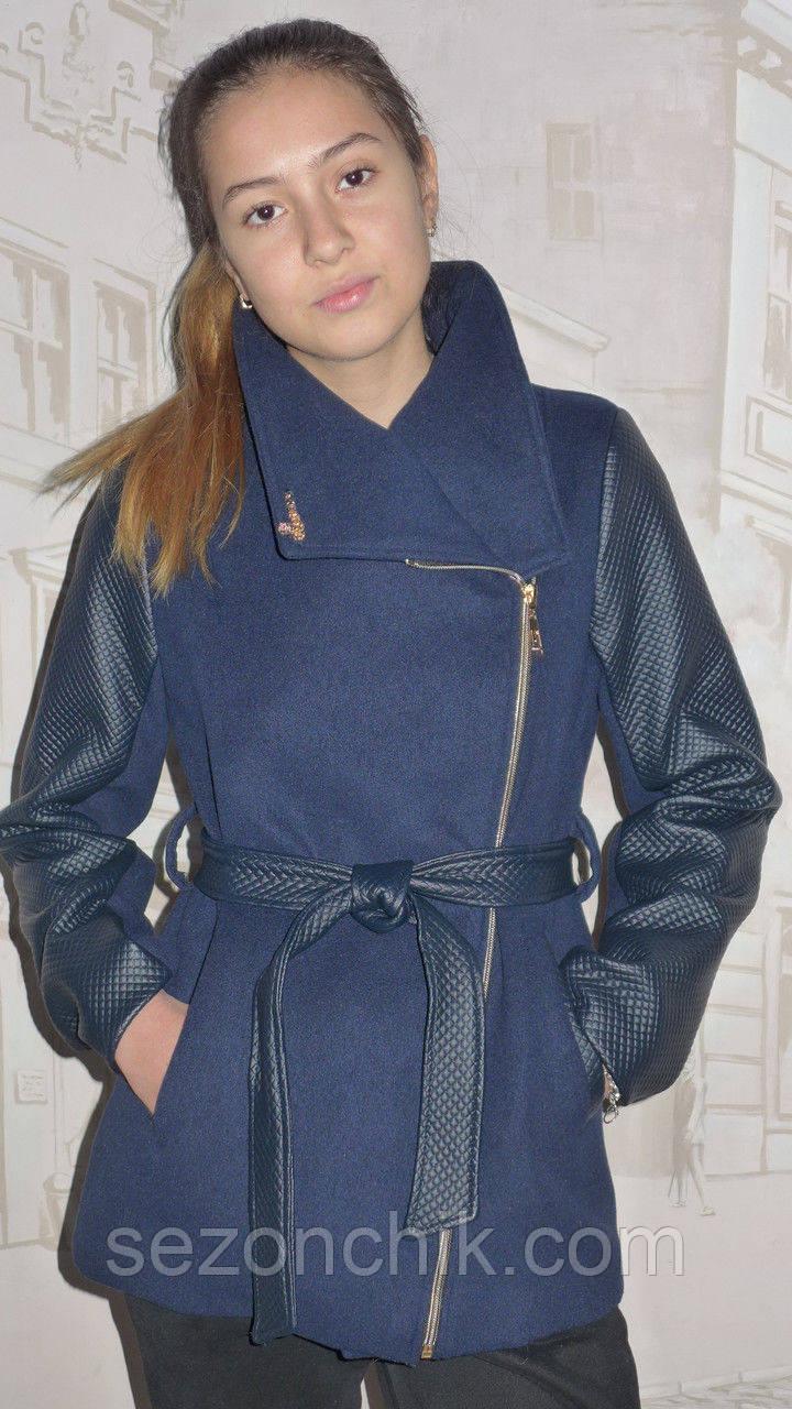 Кашемировая куртка для девочки подростка
