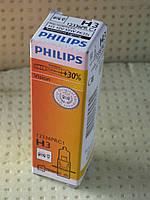 "Противотуманная лампа H3 12V 55W +30 % "" Филипс """
