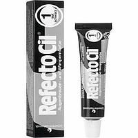 Фарба RefectoCil для брів і вій №1 - Чорний
