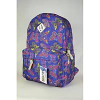 """Городской рюкзак """"Favor"""" с бабочками 2016"""