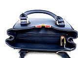 Маленькая стильная женская сумочка Эко-кожа. Бежевая, фото 10