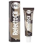 Краска RefectoCil для бровей и ресниц №3 - Натуральный коричневый