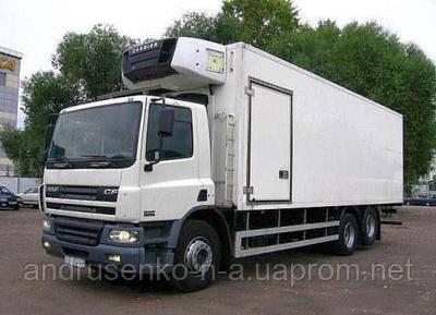 Перевозка скоропортящихся грузов