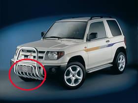 Защита поддона Mitsubishi Pajero Pinin 1998-2007