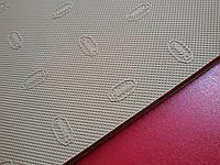 Резина набоечная BISSELL  арт. 052 р. 380*570*6.2 мм бежевая