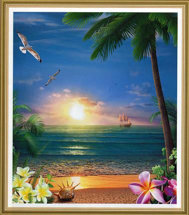 Фотообои, Морской закат, 15 листов, размер 242х201см, фото 2