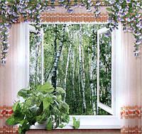Фотообои, Окно в сказку, 12 листов, размер 194х201см