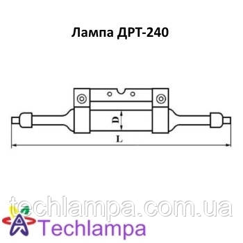 Кварцевая лампа ДРТ-240