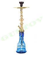 Турецкий кальян - Золотой. 70 см
