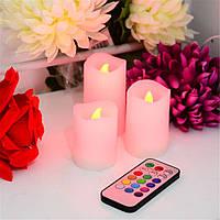 Светодиодные свечи с пультом управления Luma Candles Люма Кендлес (electronic candle), фото 1