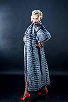 Пальто из меха чернобурки от производителя