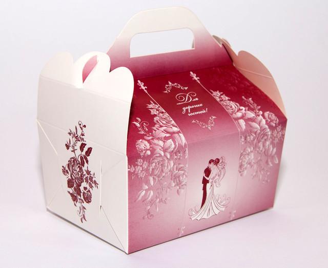 Свадебные коробочки под каравай