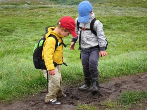 Резиновая обувь для мальчиков