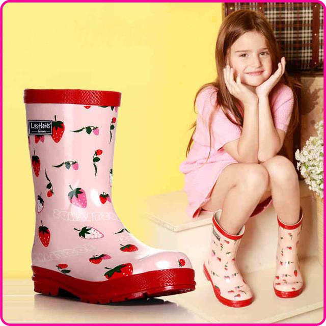 Резиновая обувь для девочек
