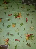 Полотенце кухонное Перчик зеленый