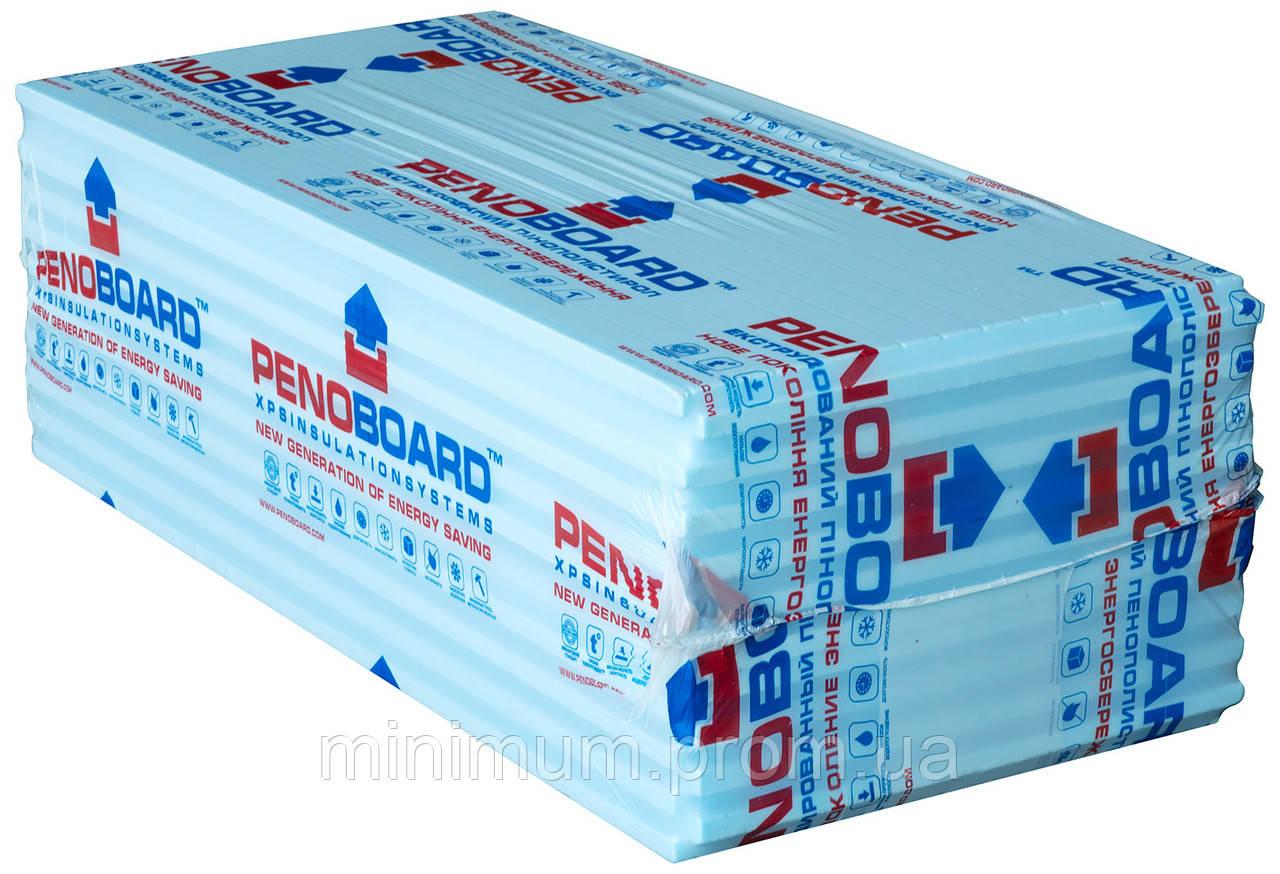 Пенополистирол PENOBOARD 1250х600х40 мм 0,75м2