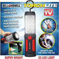 Фонарь светодиодный с магнитом Bell and Howell Torch Lite 33 светодиода, фото 1