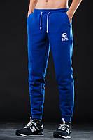 Зимние спортивные штаны (утепленные) Ястребь синие
