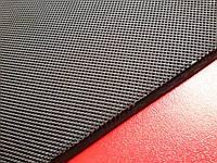 Резина набоечная ПИРАМИДА 550*500*6.4мм, цвет чёрный Китай
