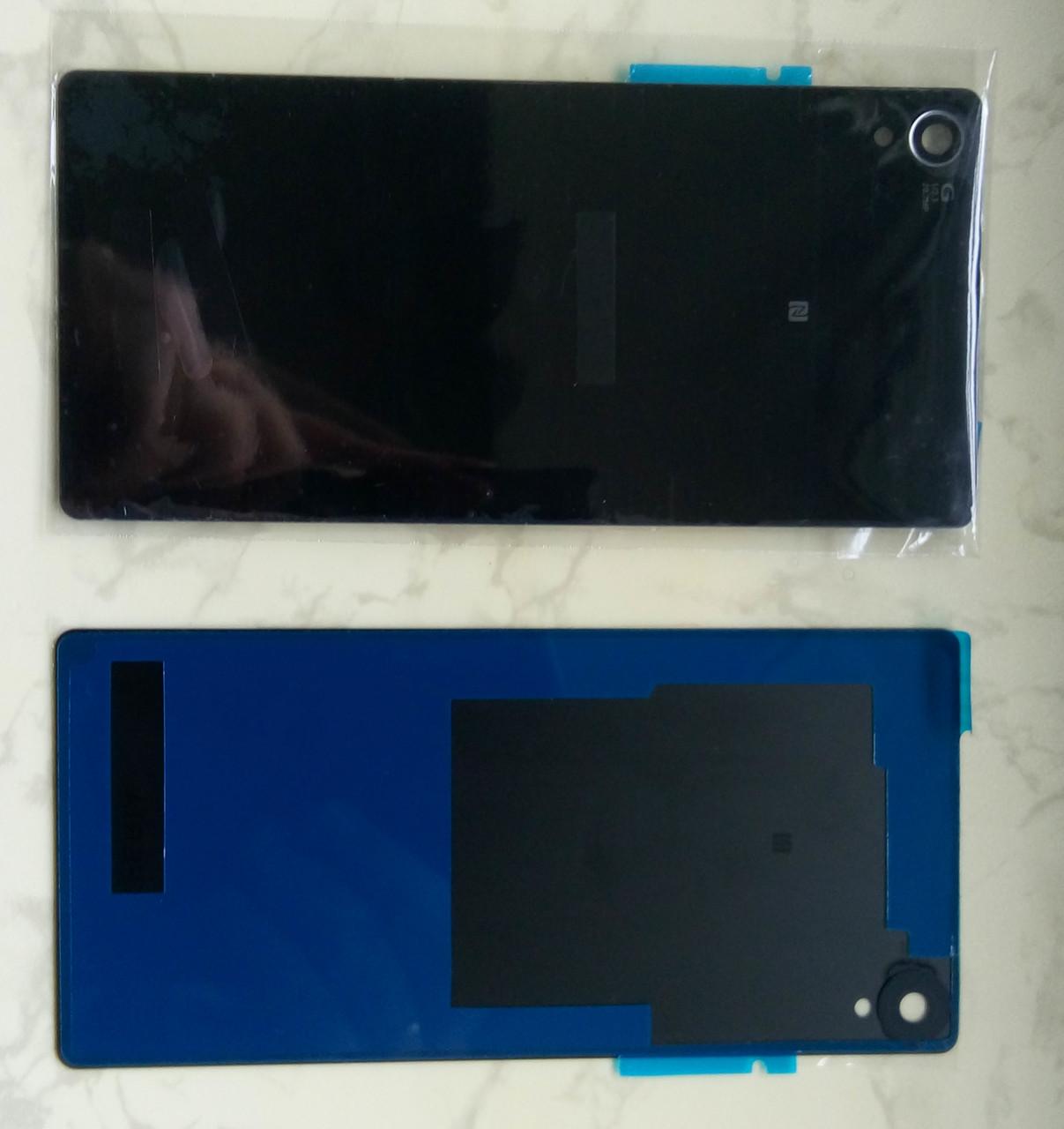 Задняя крышка Sony Xperia Z3 L55t D6603 D6633 D6653, черная