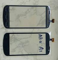 GSmart AKU A1 Gigabyte тачскрін сенсор чорний оригінальний