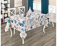 Стильная скатерть на прямоугольный стол Tropik Duck ( 9039v1-2)