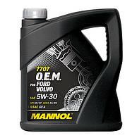 Оригинальное cинтетическое моторное масло MANNOL 7707 O.E.M. for Ford Volvo 4L