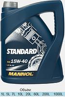 Минеральное моторное масло Mannol Standard 15W-40 4L