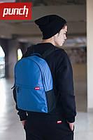 Модный молодежный рюкзак PUNCH CRYPT, Royal Blue