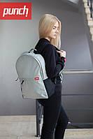 Стильный городской рюкзак PUNCH CRYPT, Royal Silver
