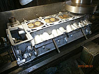 Фрезеровка головки блока цилиндров