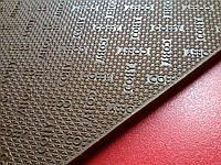 Резина набоечная COBBY р. 570*380*6.2мм цвет коричневый