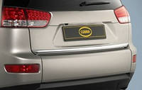 Хром лента на багажник Citroen C-Crosser