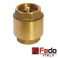 """Обратный клапан 1/2"""" (15 мм) PN40 FADO NEW KL1"""