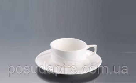Чашка 1в1 с блюдцем (80мл) Laura F1296+F1297