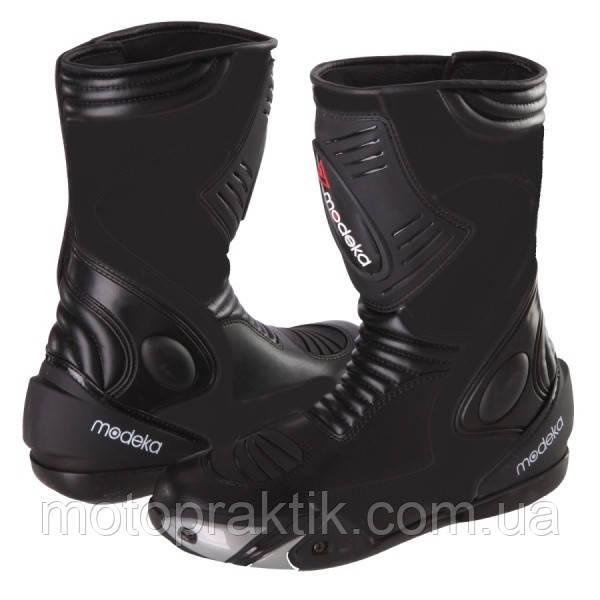Modeka Donington II Boots Black, EU39 Мотоботы спортивные