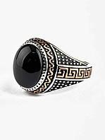 Красивое агатовое кольцо