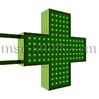 Аптечный крест 500х500 светодиодный двусторонний
