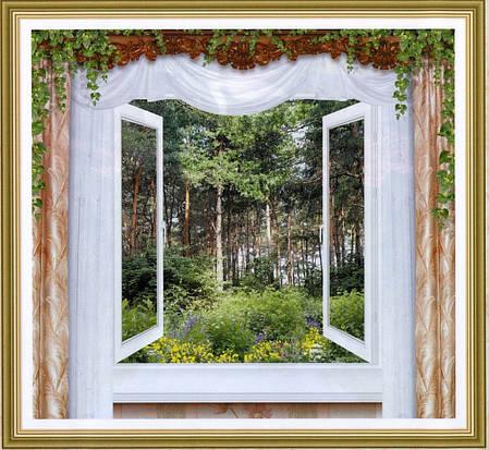 Фотообои,лес,  Утренняя свежесть, 12 листов, размер 194х201см, фото 2