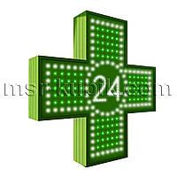"""Аптечный крест 600х600 светодиодный односторонний. Серия """"Twenty-Four"""""""